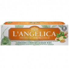 Зубная паста Langelica Имбирь и мята 75 ml