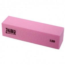 Баф-пилка Zauber 03-032D розовая