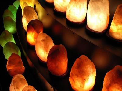 Соляная лампа: чистое сокровище земных глубин