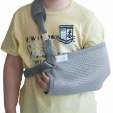 Бандаж косыночный для фиксации плечевого пояса и руки детский Алком 3004K