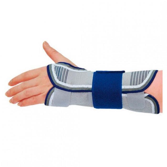 Бандаж на лучезапястный сустав с отведением большого пальца руки Алком 3067