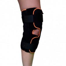 Бандаж для коленного сустава разъемный (с шарнирами и дополнительными ремнями фиксации) Armor ARK2104AK