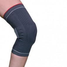 Бандаж для коленного сустава с силиконовым кольцом и спиральными металлическими ребрами жесткости Armor ARK9103