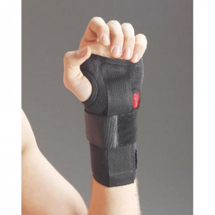 Бандаж на лучезапястный сустав неопрен с фиксацией пальца Aurafix 605
