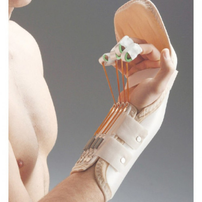 Термопластическая шина для руки и пальцев (сгибание) Aurafix ORT-09