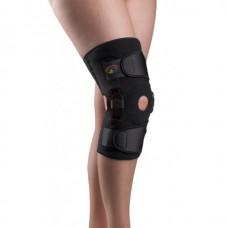 Бандаж с полицентрическими анатомическими шарнирами для сильной фиксации коленного сустава К-1ПШ