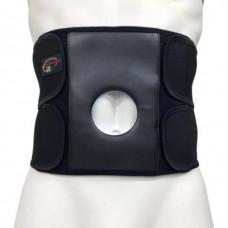 Бандаж для спины и мышц брюшной стенки с отверстием под стому Стронг С-3С