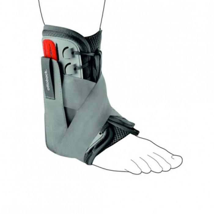 Голеностопный ортез на шнуровке усиленный Ottobock Malleo Sprint