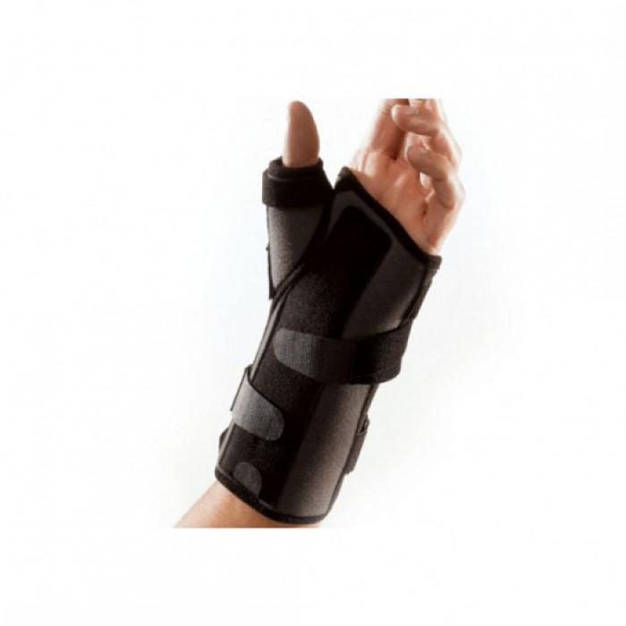 Шина для фиксации запястного сустава и большого пальца на подвязках из тесьмы Supportline REF-604