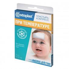 Охлаждающий пластырь от температуры Extraplast
