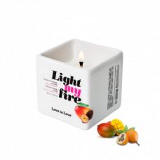 Массажная свеча Love To Love LIGHT MY FIRE Mango (80 мл)