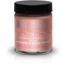 Краска для тела Dona Kissable Body Paint - VANILLA BUTTERCREAM