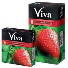 Презервативы цветные ароматизированные Viva 12 шт.