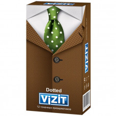 Презервативы точечные VIZIT Dotted 12 шт.