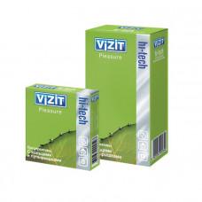 Презервативы c кольцами и пупырышками VIZIT HI-TECH Pleasure 12 шт.