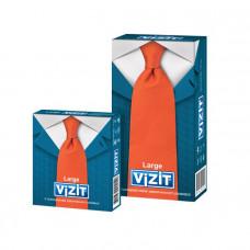 Презервативы увеличенного размера VIZIT Large 12 шт.