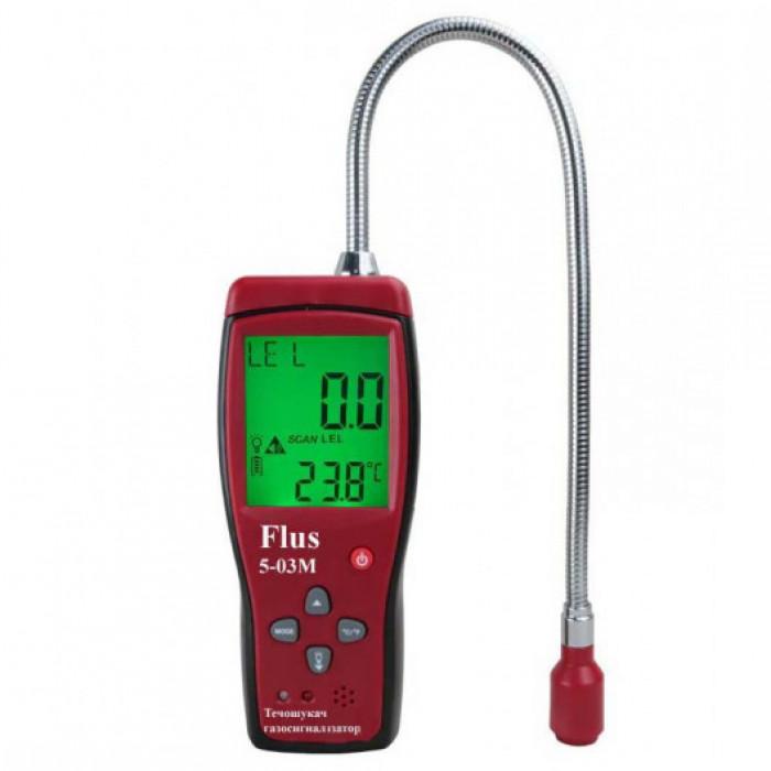 Газоанализатор - детектор утечки газа Flus 5-03M