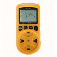 Мульти газоанализатор - сигнализатор газа Xintest HT-1805 (O2, СО, H2S, LEL)