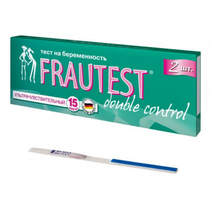 Тест для определения беременности FRAUTEST double control