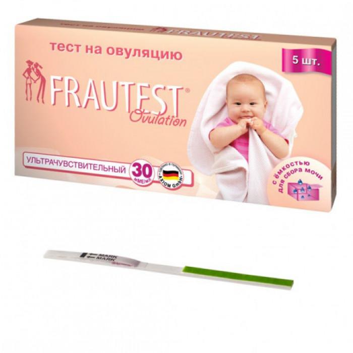 Тест для определения овуляции FRAUTEST ovulation