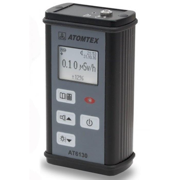 Дозиметр-радиометр гамма и бета-излучения МКС-АТ6130 АТОМТЕХ с поисковым режимом