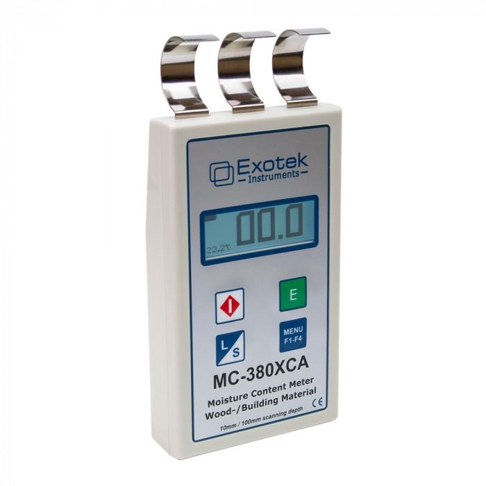 Профессиональный влагомер древесины и стройматериалов Exotek MC-380XCA