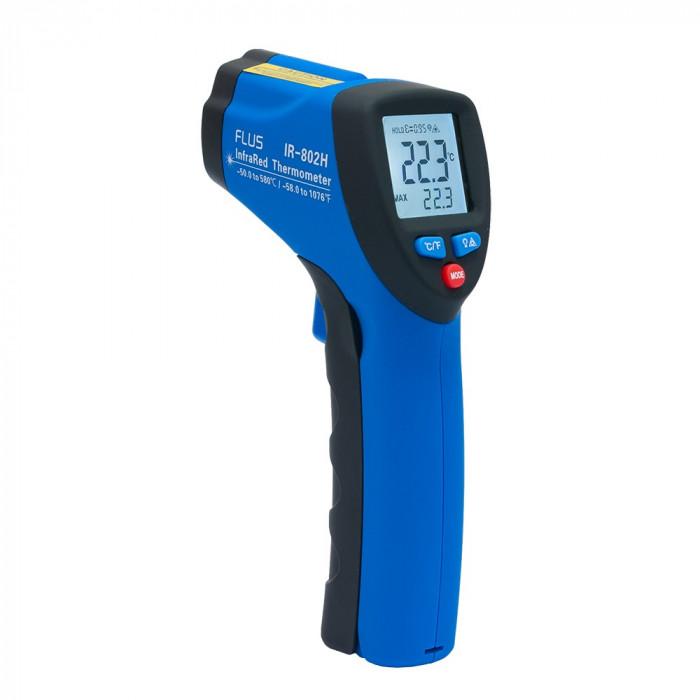 Инфракрасный термометр - пирометр Flus IR-802H