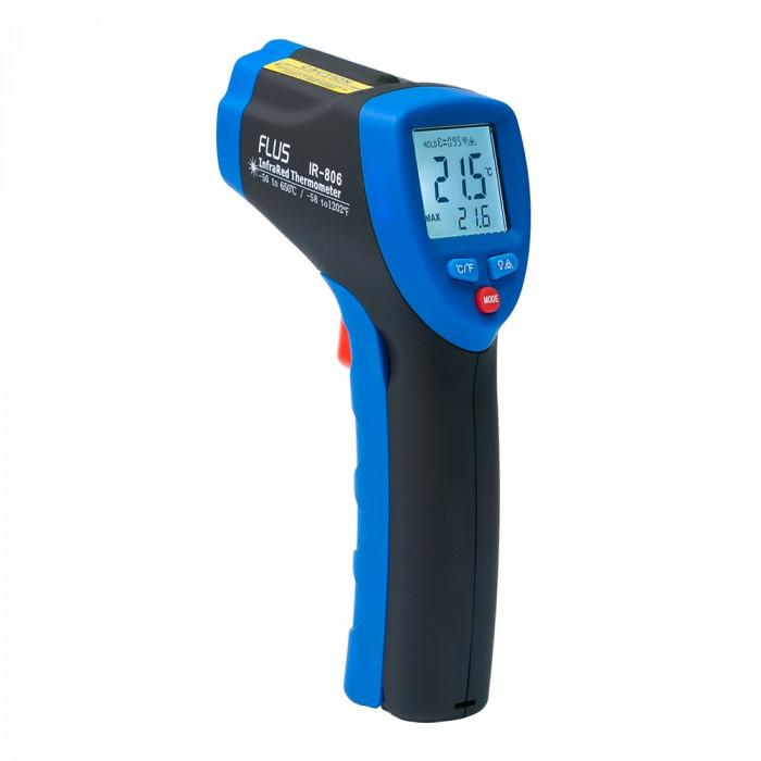 Инфракрасный термометр - пирометр Flus IR-806