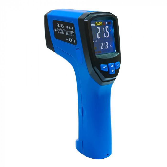 Инфракрасный термометр - пирометр Flus IR-833