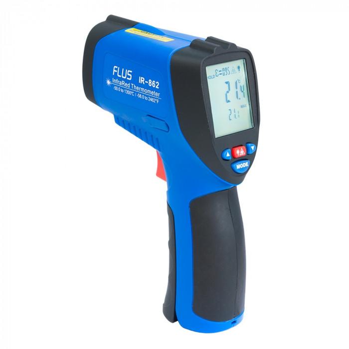 Инфракрасный термометр - пирометр Flus IR-862