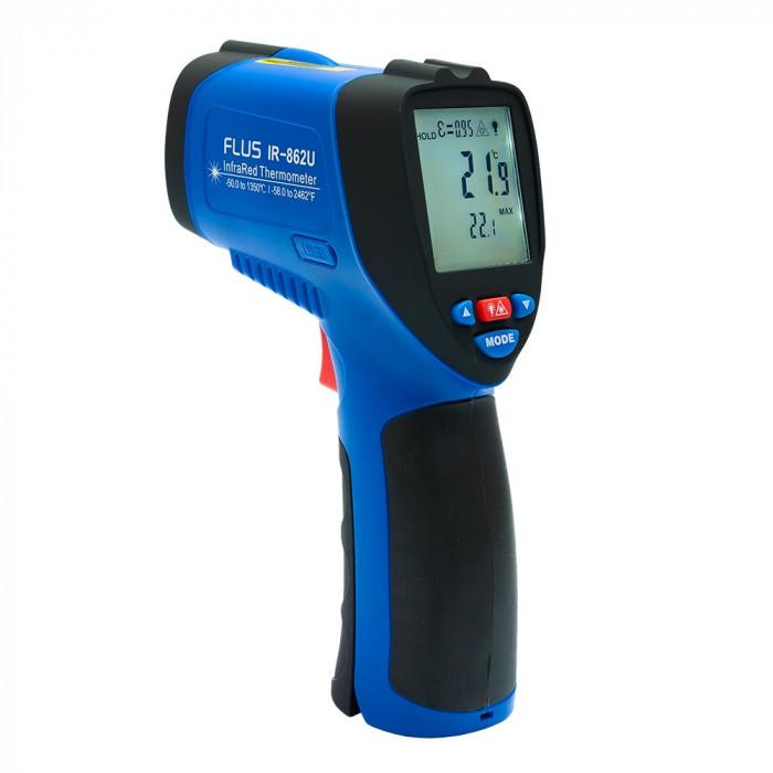 Инфракрасный термометр - пирометр Flus IR-862U
