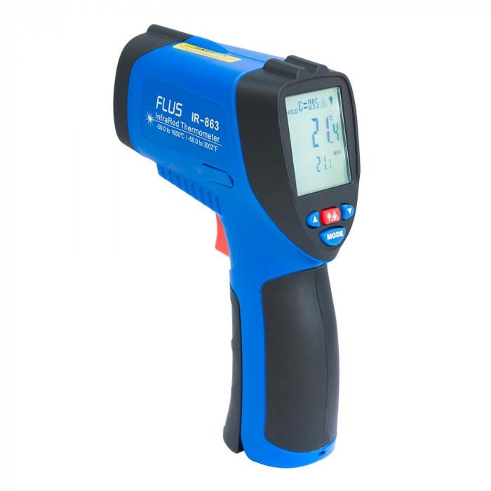 Инфракрасный термометр - пирометр Flus IR-863