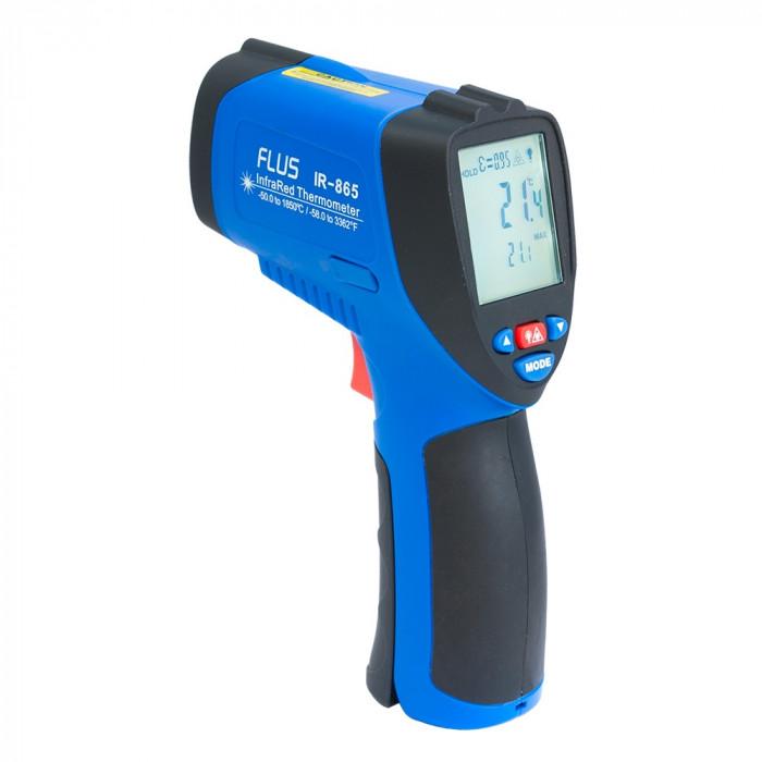 Инфракрасный термометр - пирометр Flus IR-865