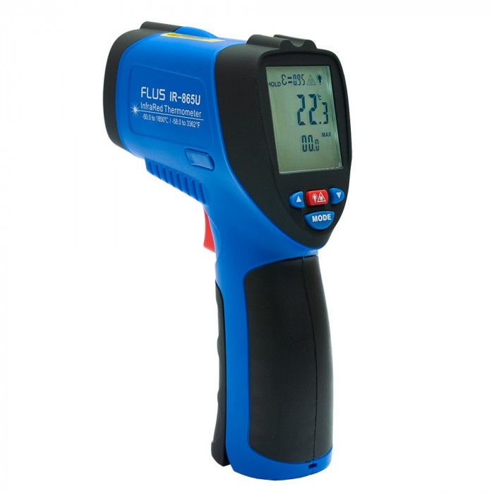 Инфракрасный термометр - пирометр Flus IR-865U