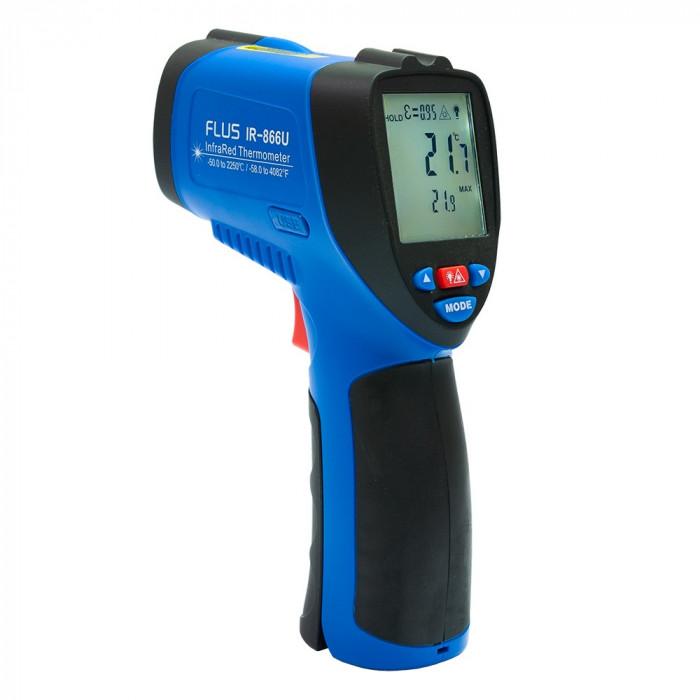 Инфракрасный термометр - пирометр Flus IR-866U
