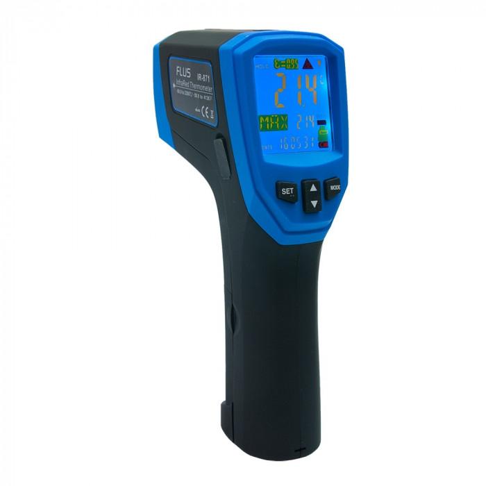 Инфракрасный термометр - пирометр Flus IR-871