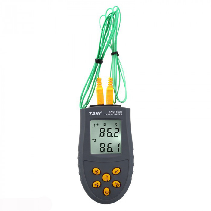 Термометр с термопарами TASI-8620