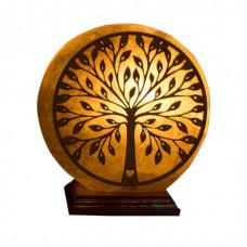 Соляная лампа Дерево денежное 3 кг