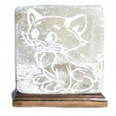 Соляная лампа Кот 4,2 кг