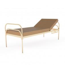 Двухсекционная медицинская функциональная кровать SM Technology с матрасом