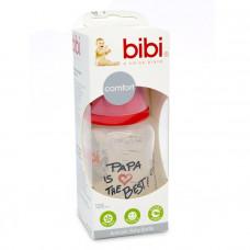 Бутылочка Bibi PAPA IS THE BEST 125 мл.
