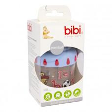 Бутылочка антиколиковая пластиковая Bibi I AM A BOY 125 мл.