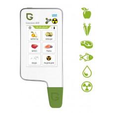 GreenTest ECO 6 + рыба. Дозиметр, Нитрат-Тестер и Измеритель жесткости воды