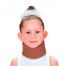 Бандаж для шеи детский, мягкий (шина Шанца) ОРТЕЗ-2Д