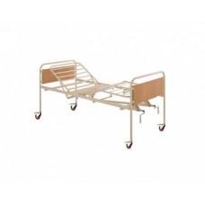 4-х секционная кровать с механическим приводом и колесами Invacare Sonata 4/C