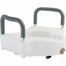Туалетное сидение с поручнями Dr. Life 12205/В