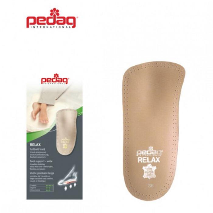 Pedag RELAX 127 - Ортопедическая каркасная полустелька-супинатор