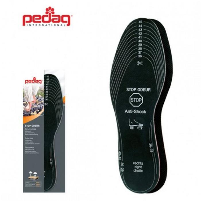 Pedag STOP ODEUR 163 - Гигиеническая стелька с улучшеной амортизацией пятки