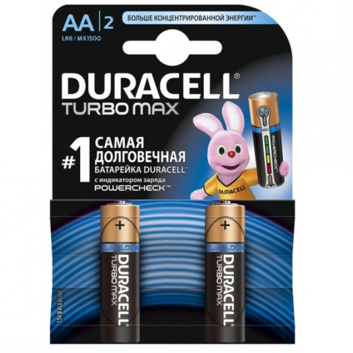 Батарейки Duracell Turbo Max AA (2 шт)