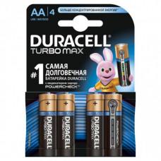 Батарейки Duracell Turbo Max AA (4 шт)